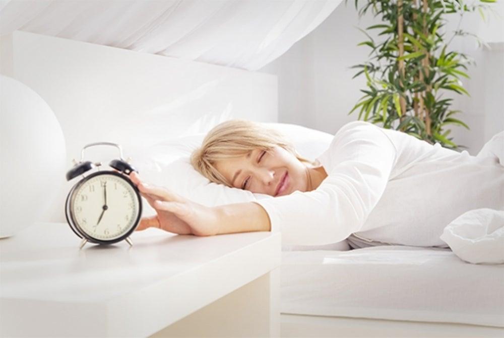 7. Wake up with pleasantness.
