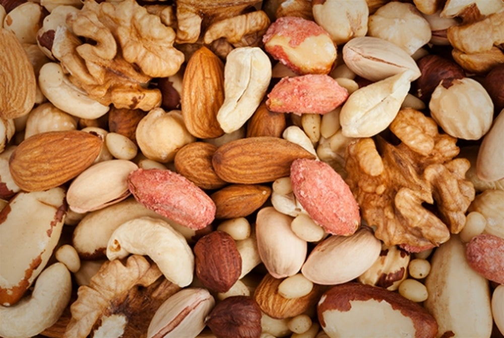 1. Almonds, Walnuts or Pistachios