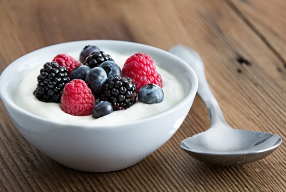 3. High-Protein Yogurt and Berries