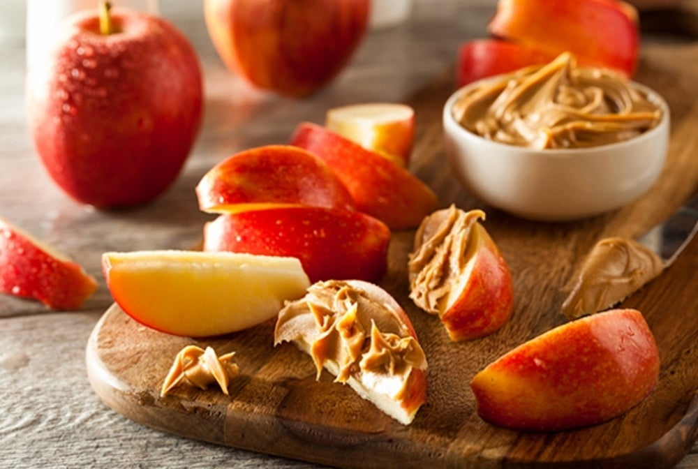 5. Apples and Nut Butter