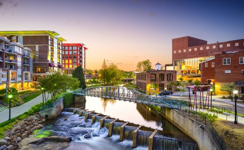 9. Greenville, South Carolina