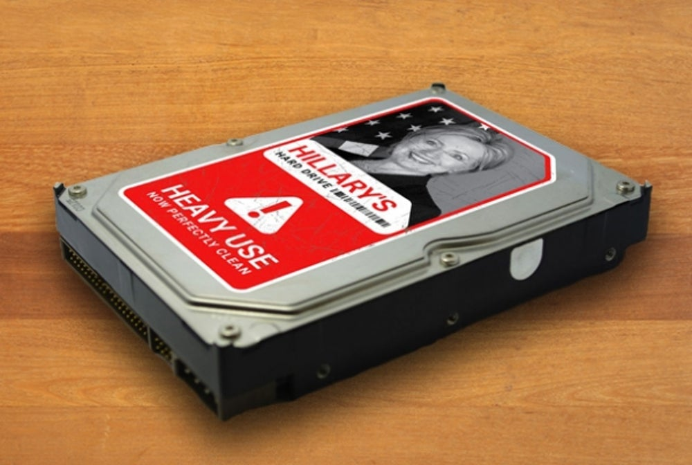 Rand Paul's Anti-Hillary Hard Drive