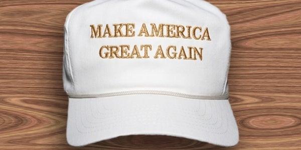 Donald Trump's 'Make America Great Again' Cap
