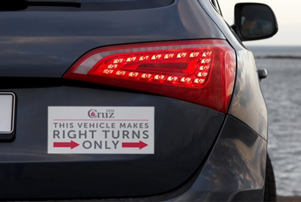 Ted Cruz's Bumper Sticker