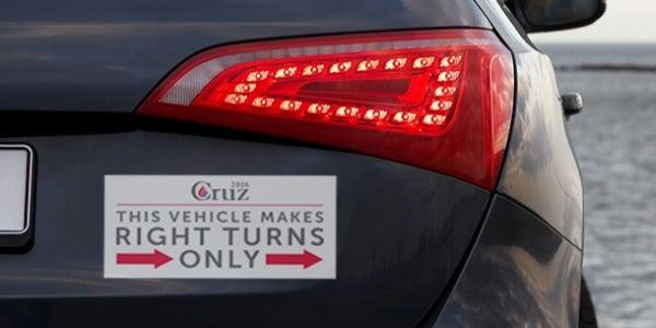 Ted Cruz's Bumper Sticker
