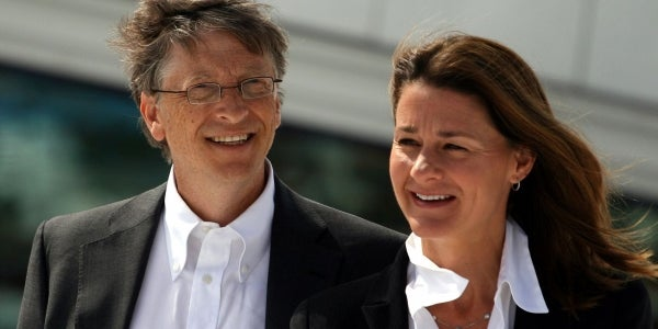 Bill and Melinda Gates are champions in eradicating preventable diseases and have so far donated $27 billion.