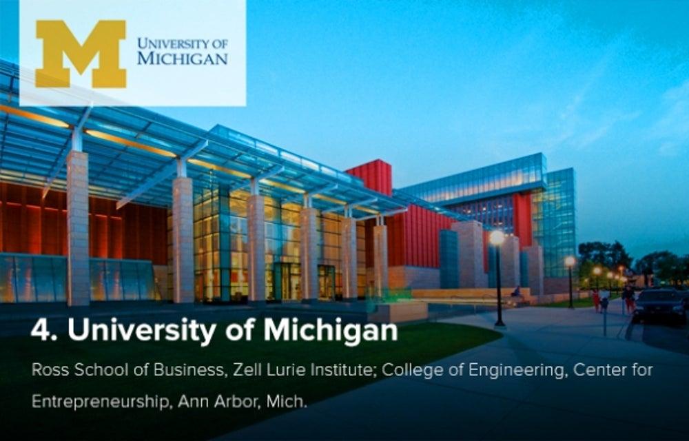 4. University of Michigan