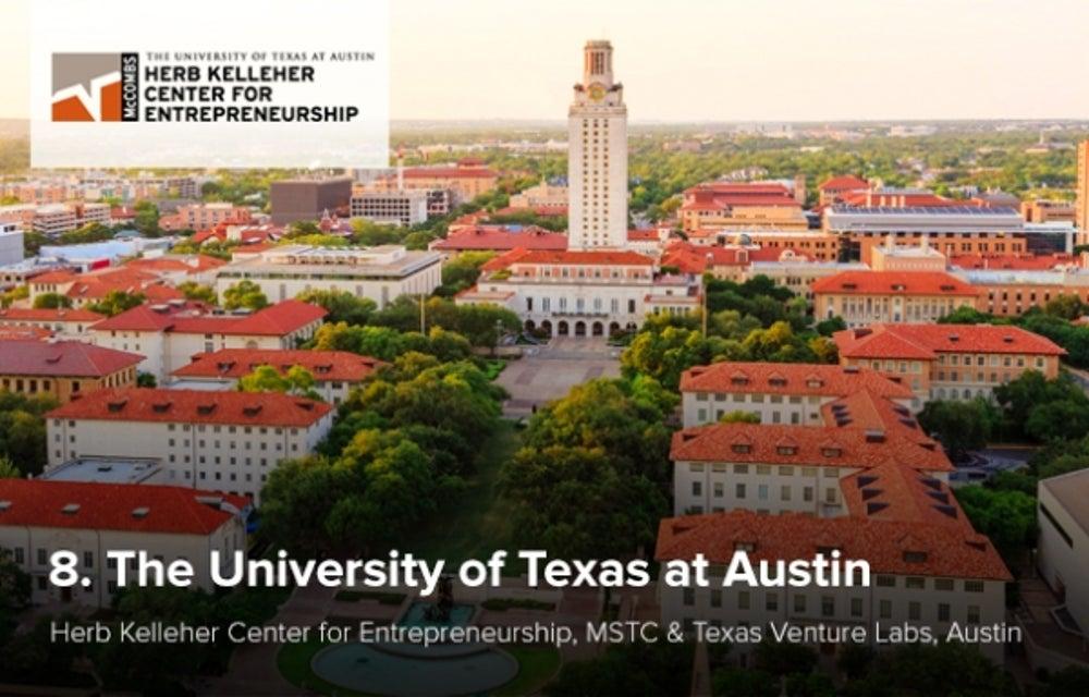 8. The University of Texas at Austin