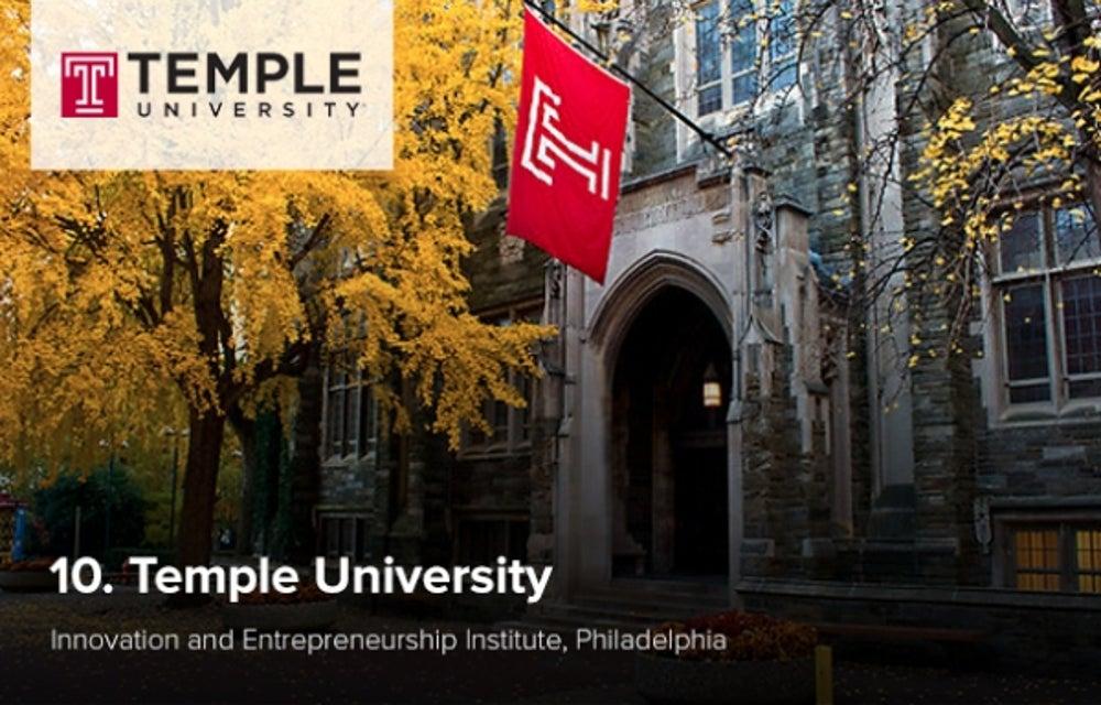 10. Temple University