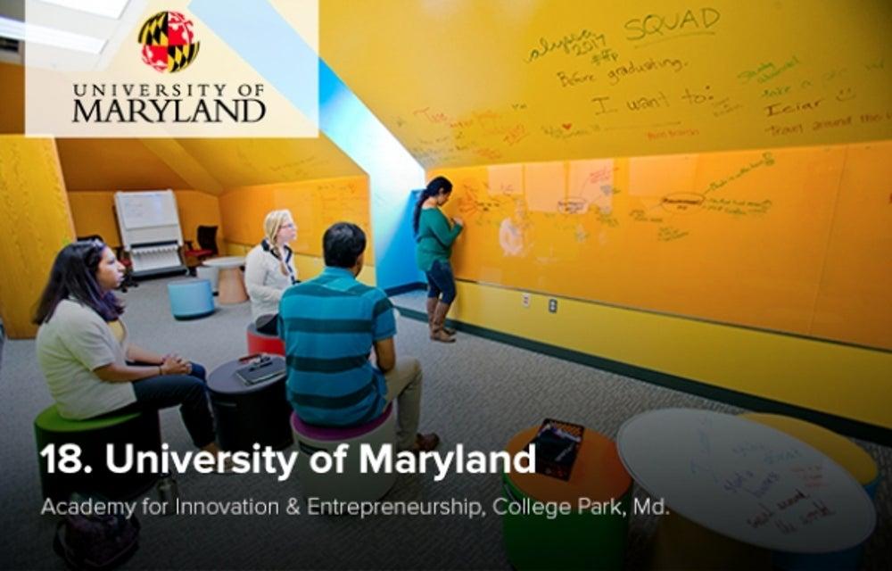 18. University of Maryland
