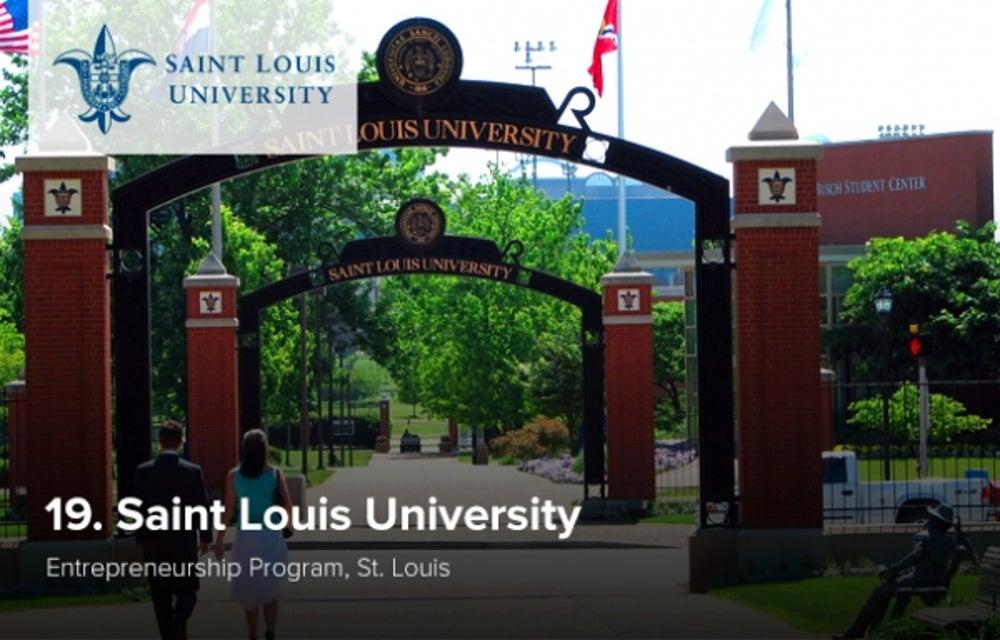 19. Saint Louis University
