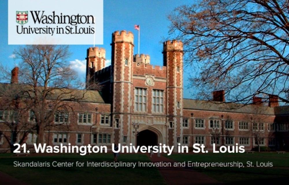 21. Washington University in St. Louis