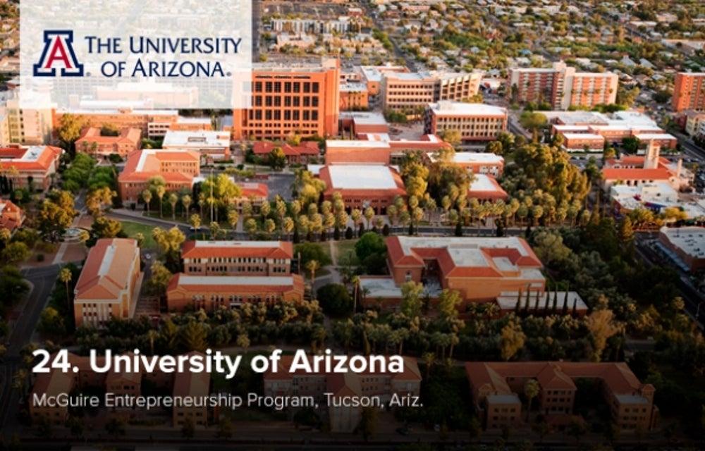 24. University of Arizona