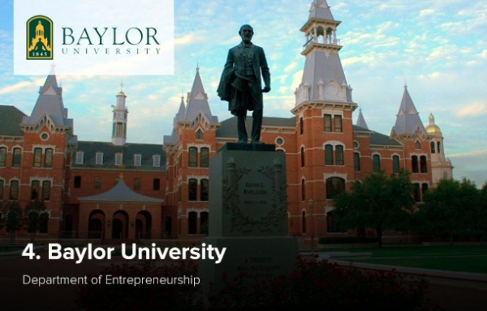 4. Baylor University
