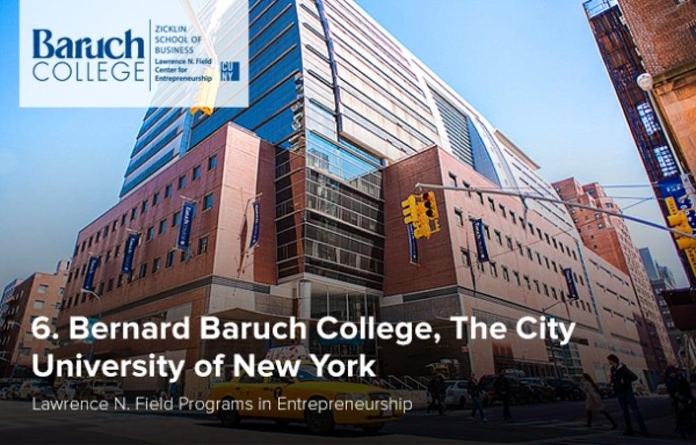 6. Bernard Baruch College