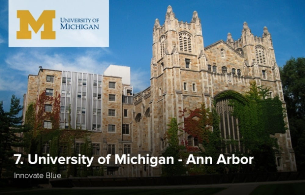 7. University of Michigan