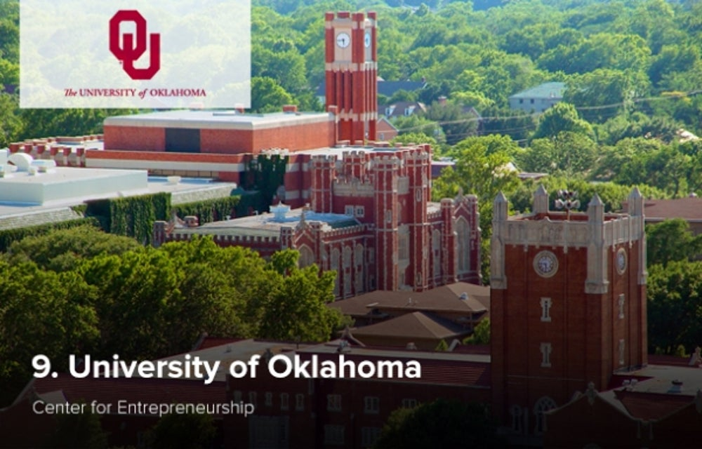 9. University of Oklahoma