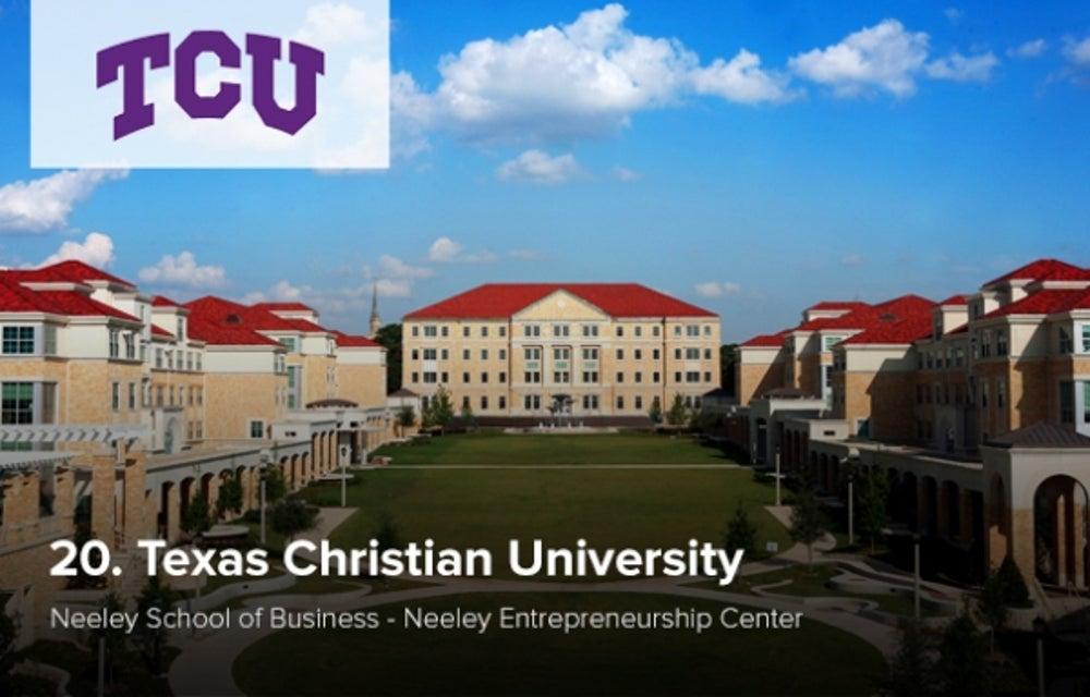 20. Texas Christian University