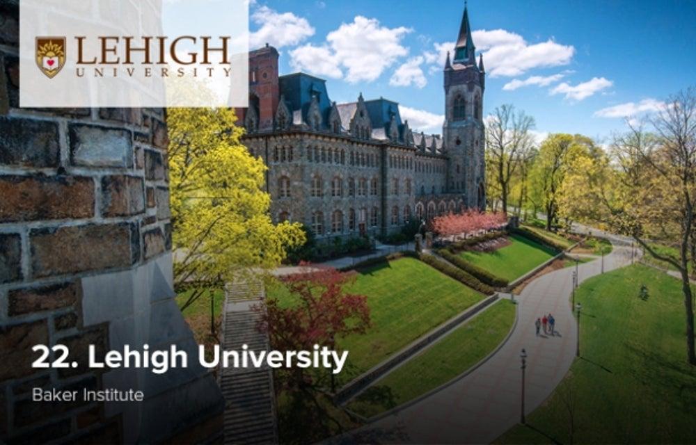22. Lehigh University