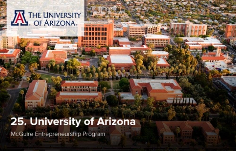 25. University of Arizona