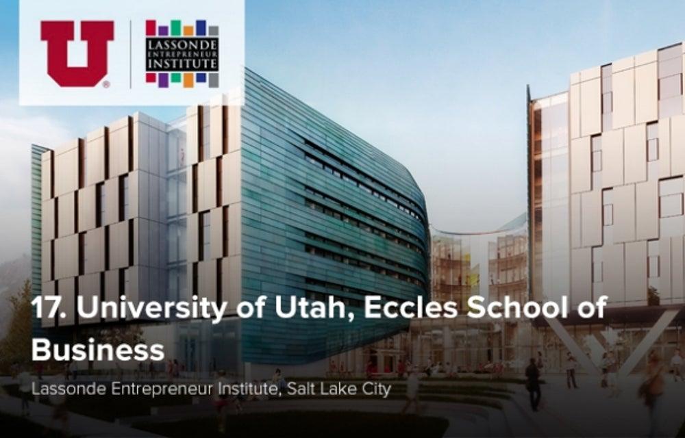 17. University of Utah
