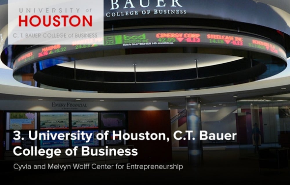 3. University of Houston