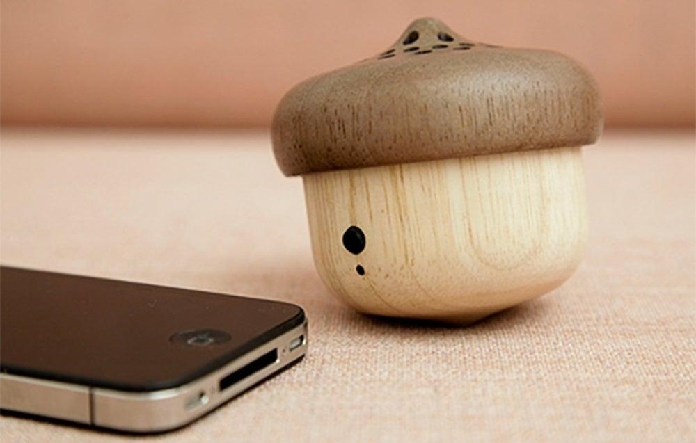 Kikkerland Acorn Bluetooth Speaker ($80)