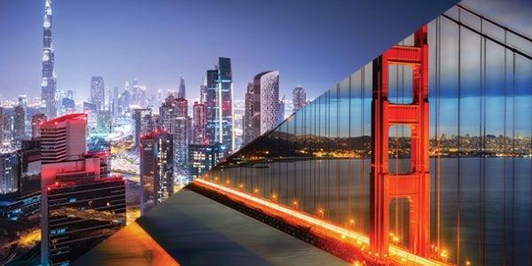 10. Dubai to San Francisco