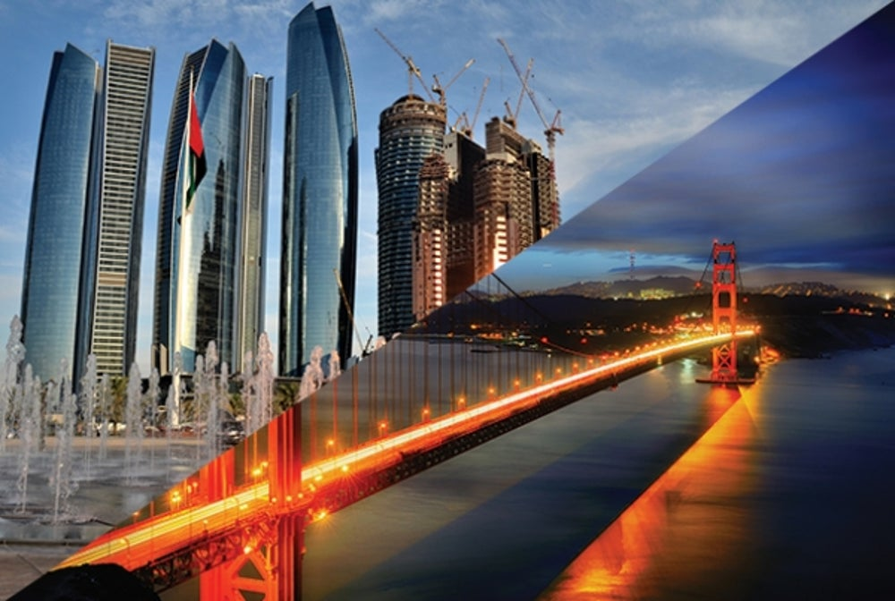 9. Abu Dhabi to San Francisco