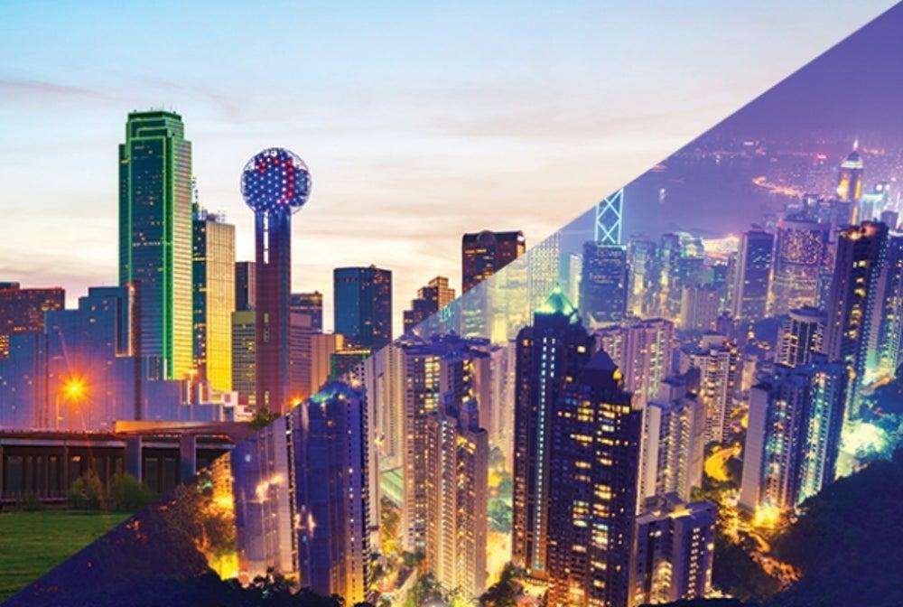 8. Dallas/Fort Worth to Hong Kong