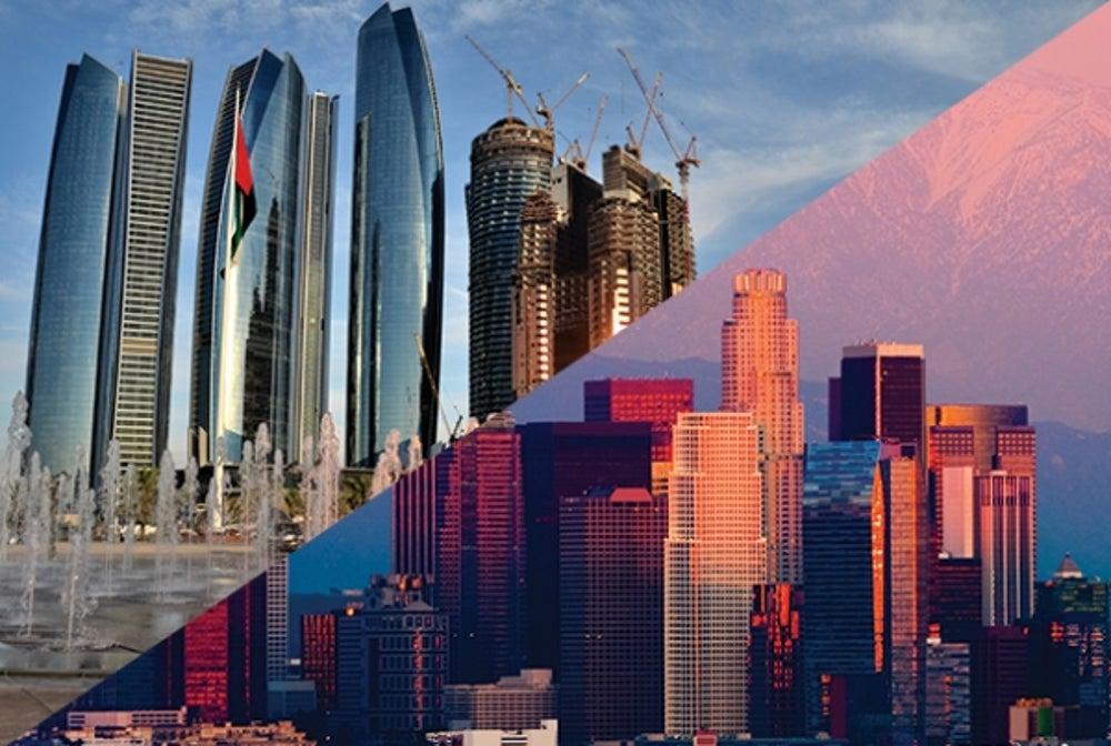 6. Abu Dhabi to Los Angeles