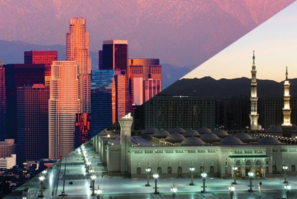 3. Los Angeles to Jiddah