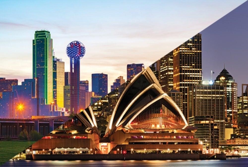 2. Dallas/Fort Worth to Sydney