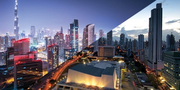 1. Dubai to Panama City