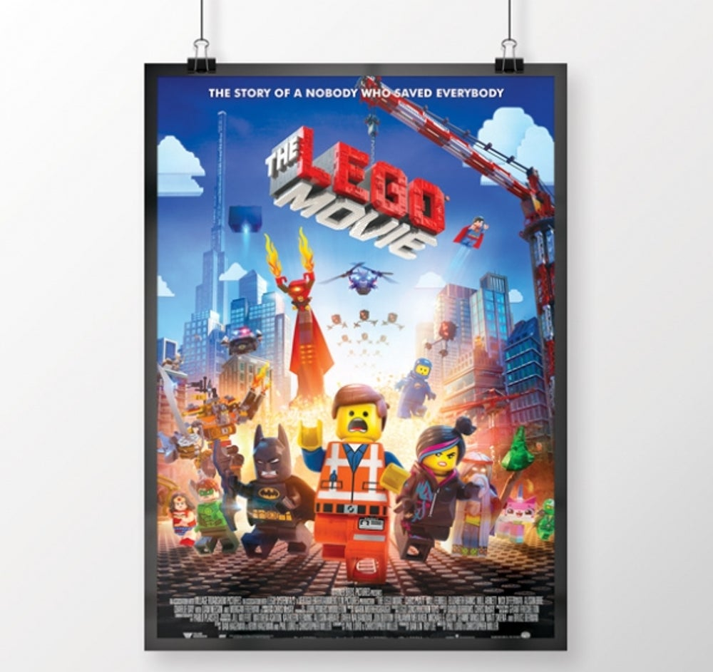 2. The LEGO Movie (released February 7, 2014)
