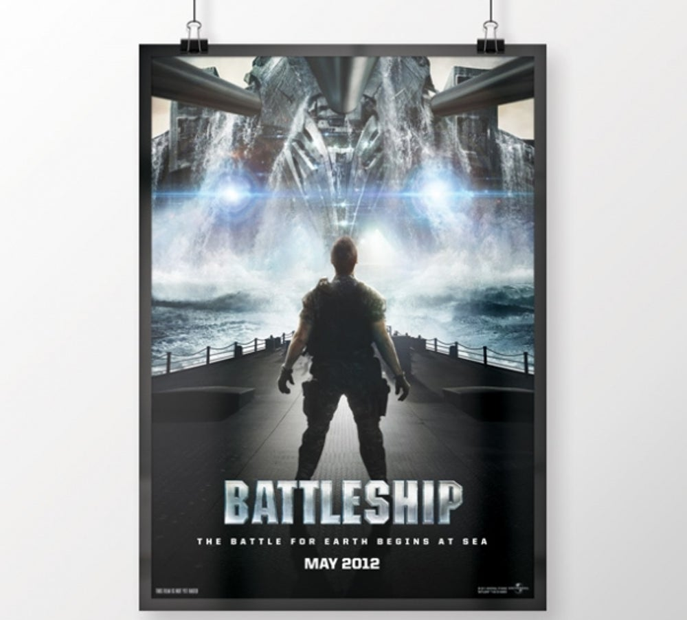 3. Battleship (released May 18, 2012)