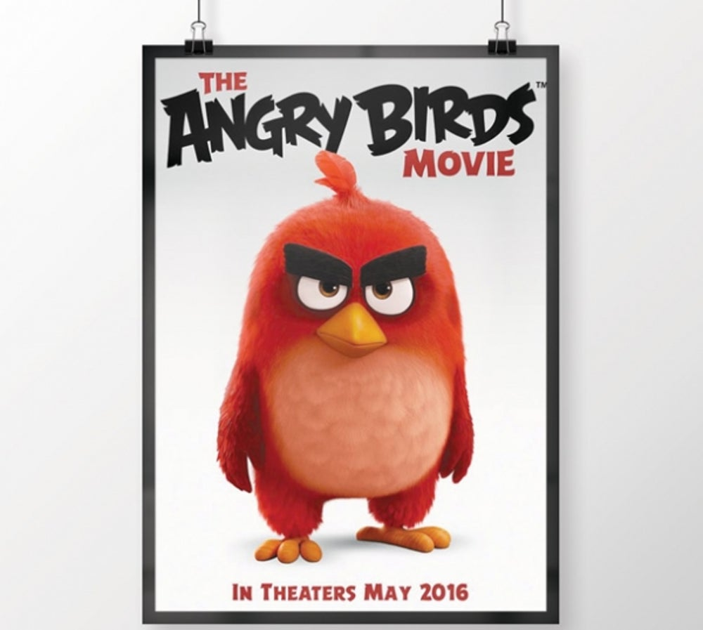6. Angry Birds (to be released May 20, 2016)
