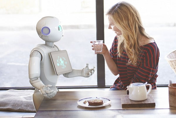 Softbank's consumer robotic Pepper