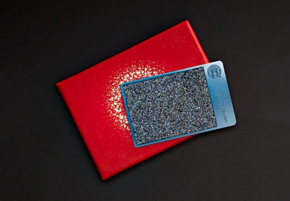 4. A Starbucks Swarovski-encrusted gift card