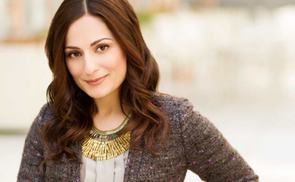Farnoosh Torabi worked as a hostess at Ruby's Diner.