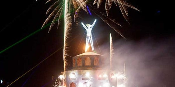 Burning Man shenanigans