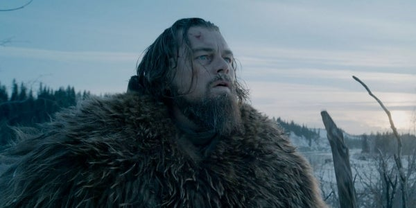 From The Revenant: Survival comes one step at a time.