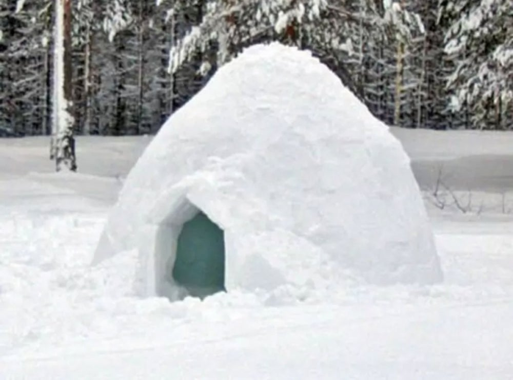 An Austrian igloo