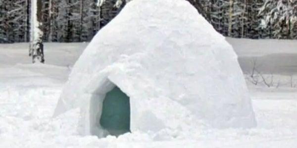 An Austrian igloo
