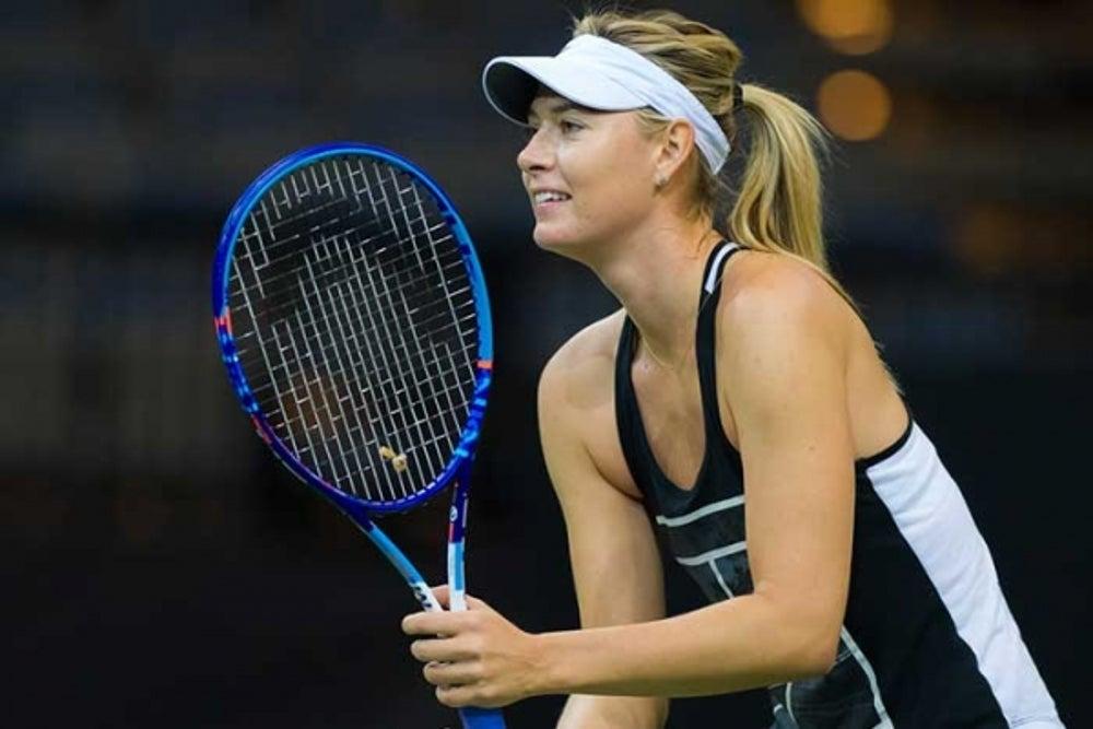 7. Maria Sharapova