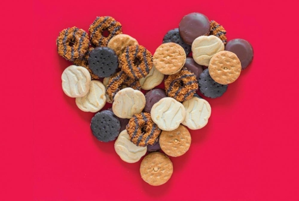 Year-Round: Girl Scout Cookies