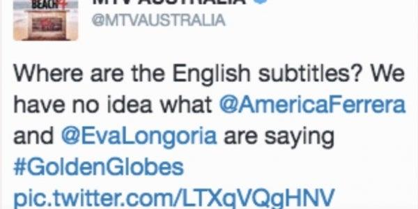 MTV Australia learns it is bad at humor.