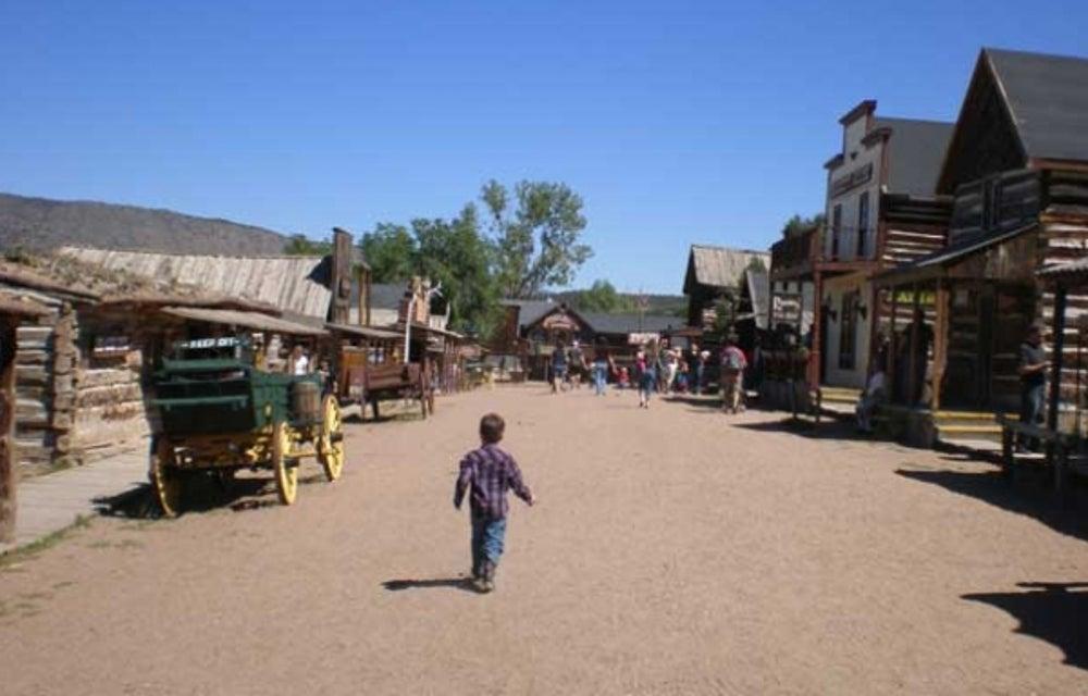 3. Bill Koch's Western-style ghost town