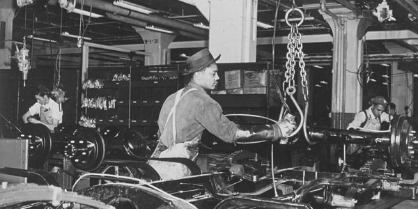 2. Ford saw the future.