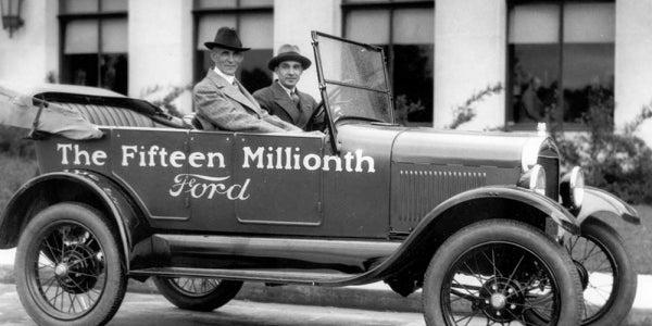 5. Ford took big risks.